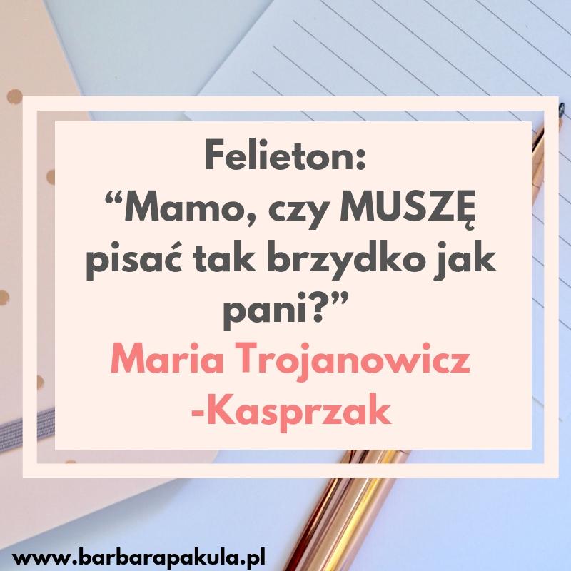 Maria Trojanowicz-Kasprzak