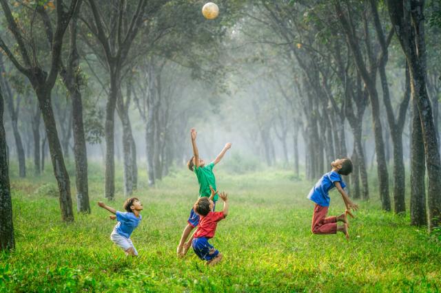 aktywność ruchowa dzieci słabowidzących